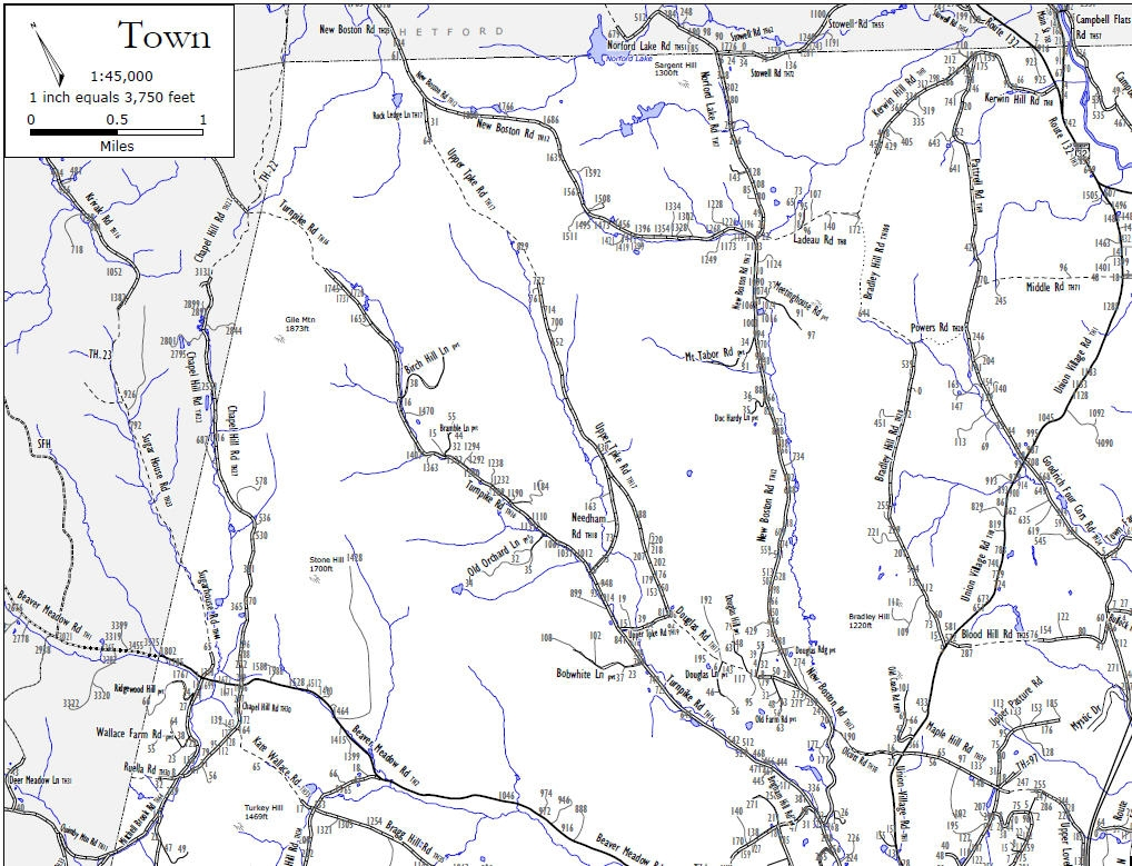 Town Highway Maps Official Website of the Town of Norwich Vermont
